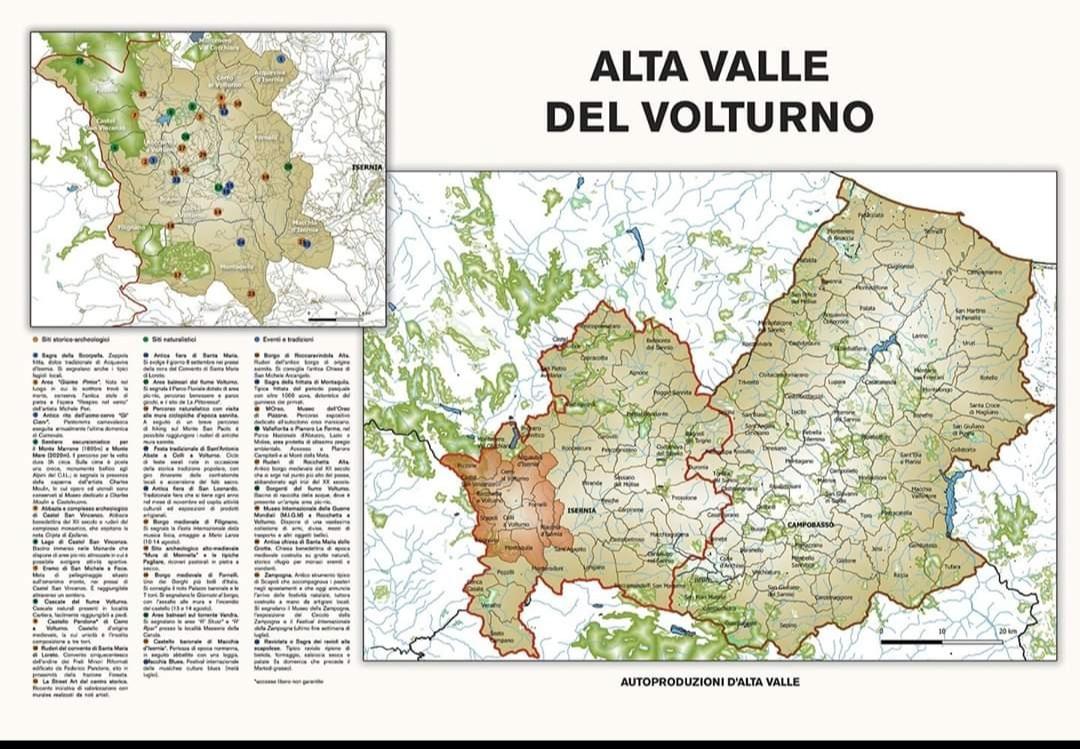 Cartina Del Molise Geografica.Mappa Dell Alta Valle Del Volturno La Geniale Idea Di Un Gruppo Di Giovani Collesi News Della Valle